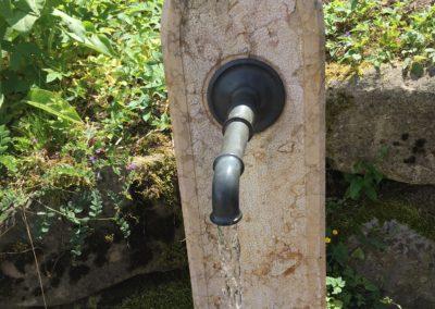 Wasseranschluss Gartenbrunnen 2016
